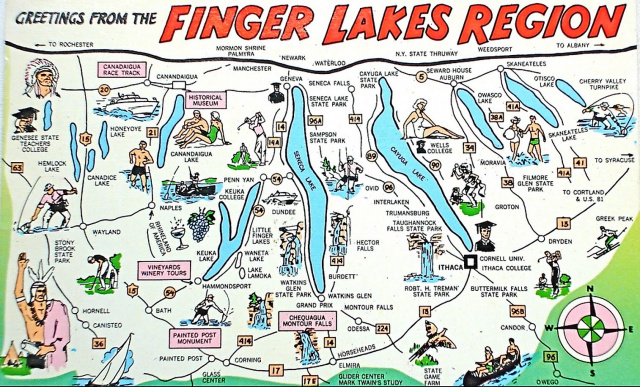 Finger Lakes All-Inclusiv Weekend Tour